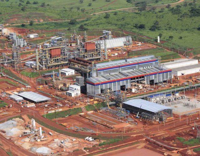 Construção Estrutura metálica  Siderurgia, Mineração e Energia Prédios Industriais e Torres de Processo - Anglo American