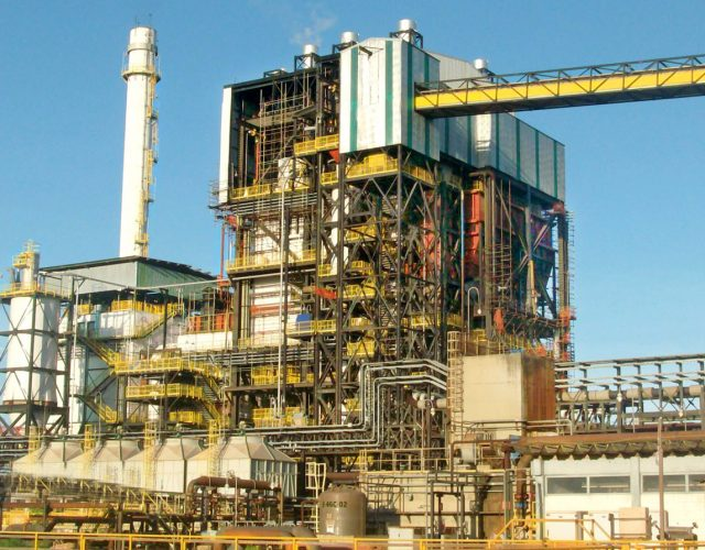 Construção Estrutura metálica  Siderurgia, Mineração e Energia Prédio de Caldeira e Pipe Rack - Hydro Alunorte